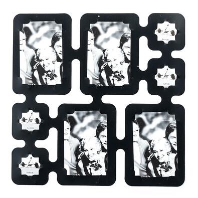 Fotorámeček na 8 fotografii černá