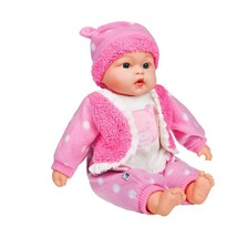 PlayTo Anikó beszélő és éneklő baba, 46 cm