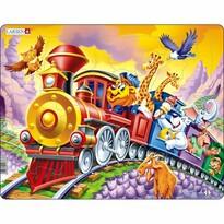 Larsen Puzzle Cirkusový vlak, 30 dielikov