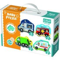 Trefl Puzzle Baby Środki transortu, 4 szt.
