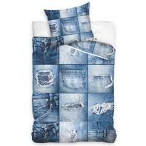 Bavlnené obliečky Džíny, 140 x 200 cm, 70 x 90 cm
