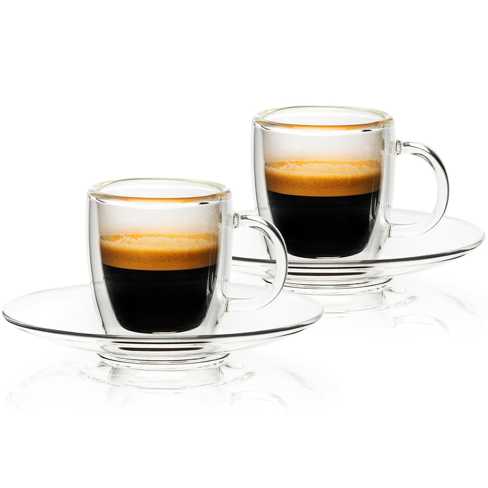 4home Termo sklenice Ristretto Hot&Cool, 50 ml, 2 ks