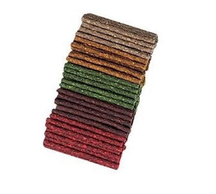 Lisovaná tyčinka směs barev 7-8 mm/12,5 cm bal.100, vícebarevná