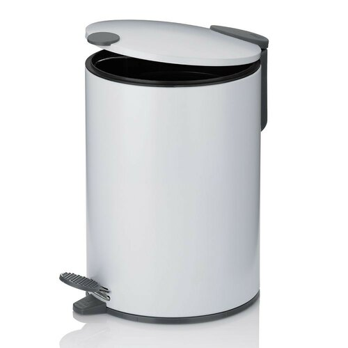 Kela Kosmetický odpadkový koš MATS 3 l, bílá