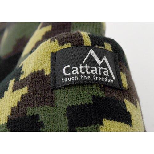 Cattara Army sapka LED lámpával, zöld