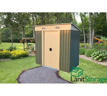 LanitPlast LanitStorage 6 x 4 záhradný domček na náradie