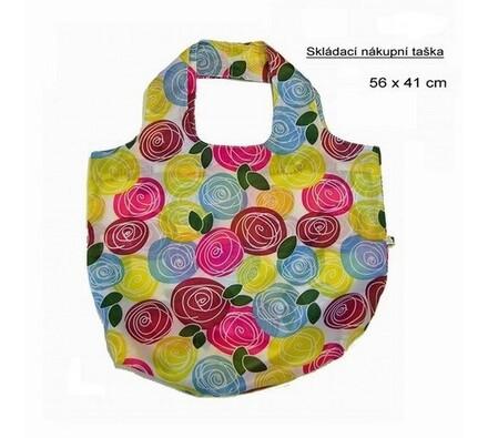 Skládací nákupní taška Famito 0019L květy