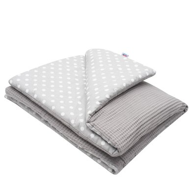 New Baby Detská deka Vafle bodky, 80 x 102 cm