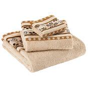 Ręcznik kąpielowy Fiora beżowy, 70 x 140 cm