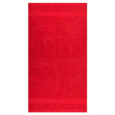 Ręcznik Olivia czerwony, 50 x 90 cm