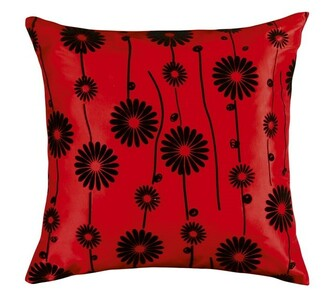 Polštářek Dora červená, 45 x 45 cm
