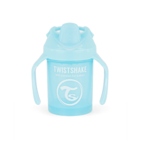 Twistshake Učiaci netečúci hrnček 230 ml, modrá