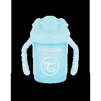 Twistshake Učící netekoucí hrnek 230 ml, modrá