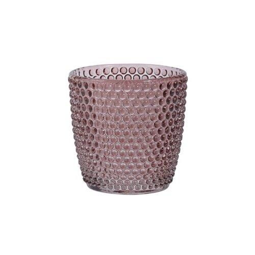 Koopman Svícen na čajové svíčky Miere, růžová