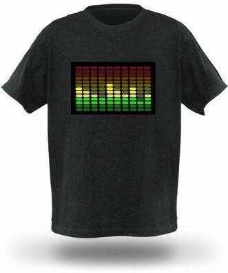 Tričko s ekvalizérem, model 1, M