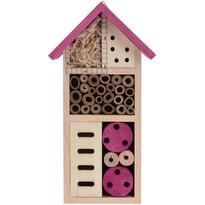 Hmyzí domeček růžová, 13 x 26 cm