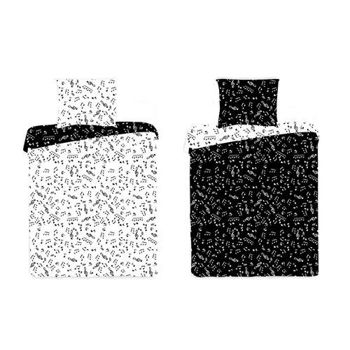 4Home bavlnené obliečky Music, 140 x 200 cm, 70 x 90 cm