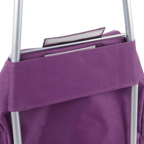 Nákupní taška na kolečkách Cargo, fialová