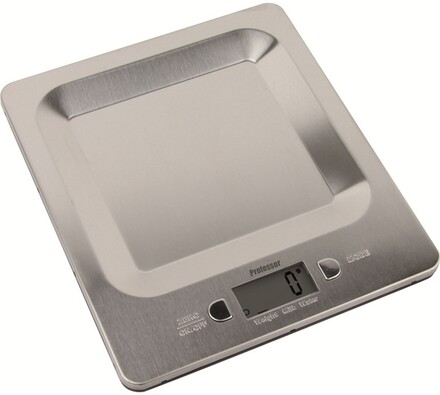 Kuchyňská váha digitální, Professor KV 507, stříbrná