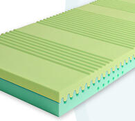 Sedmizónová matrace z BIO pěny, 80 x 195 cm
