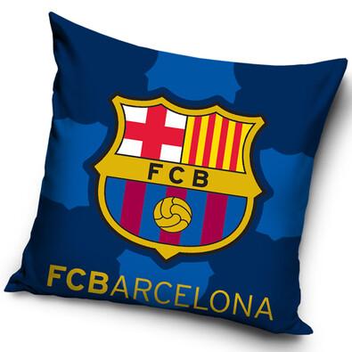 Polštářek FC Barcelona Blue, 40 x 40 cm