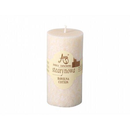 Stearínová sviečka Capri Bavlna, 12 cm