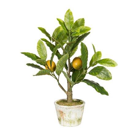 Umelý bonsaj Citrónovník, 40 cm