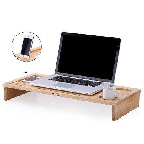 Ochte bambusz notebook asztal, 65 x 30,5 x 9 cm