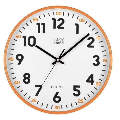 Lowell 00720O Nástěnné hodiny pr. 30 cm