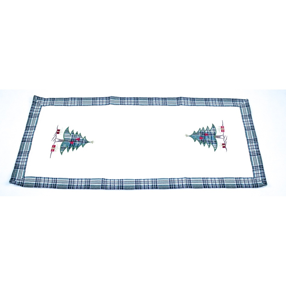 BO-MA Trading Vánoční běhoun Stromečky, 40 x 90 cm