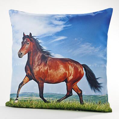 Povlak na polštářek Kůň, 40 x 40 cm