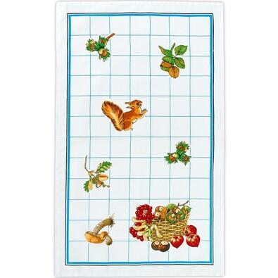 Kuchyňská utěrka Zvířátka, 40 x 70 cm