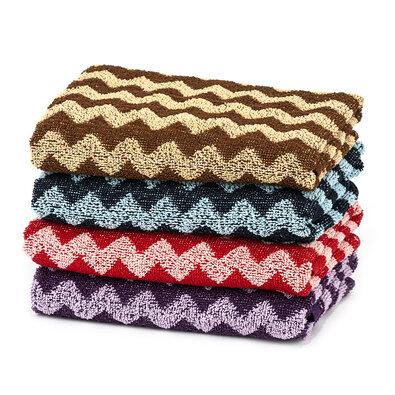 Ręcznik roboczy Zig Zag, 50 x 100 cm, komplet 4 szt.