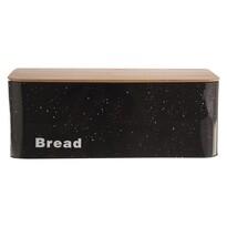 Doză pâine Orion Marmură, din tablă