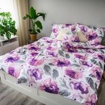 Saténové obliečky Ema Peony, 140 x 200 cm, 70 x 90 cm