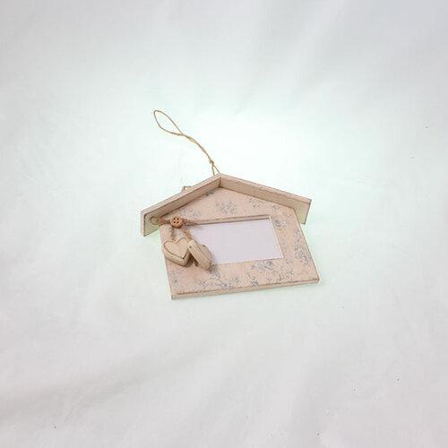 Fotorámček v tvare domčeka