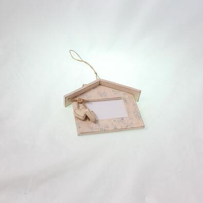 Fotorámeček ve tvaru domečku