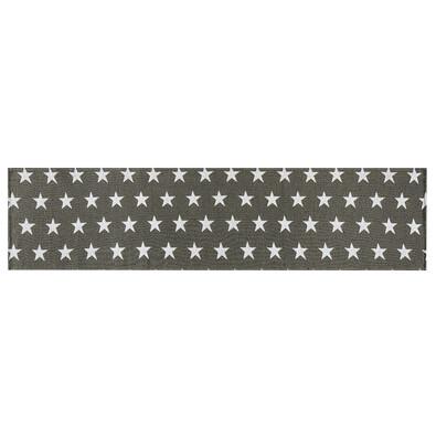 Behúň Stars sivá, 33 x 140 cm