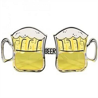 Okulary słoneczne piwo