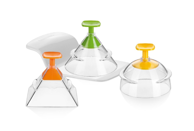 Tescoma Presto Foodstyle 3D formičky na tvarovanie,