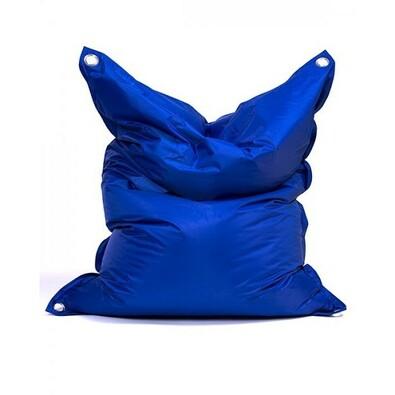 Sedací pytel s popruhy Dark Blue 181 x 141 cm