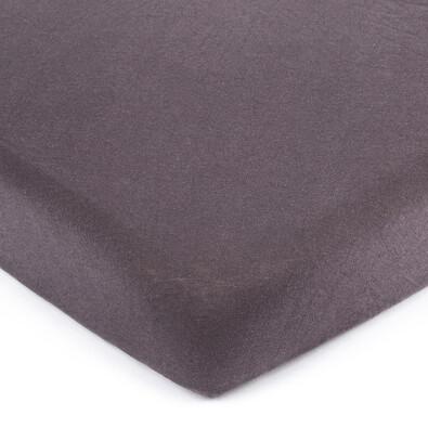 Cearșaf de pat 4Home jersey gri închis, 160 x 200 cm