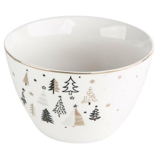 Altom Porcelánová miska Nordic Forest 14 cm