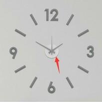 Galant fali öntapadós óra, 60 cm, szürke