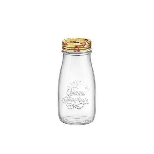 Bormioli Rocco Zavařovací láhev s víčkem Quattro Stagioni, 400 ml
