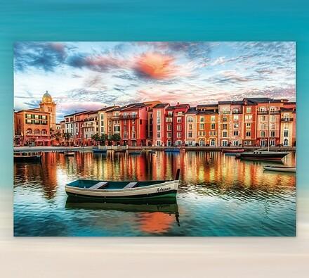 Puzzle Portofino Itálie Educa, 2000 dílků, vícebarevná