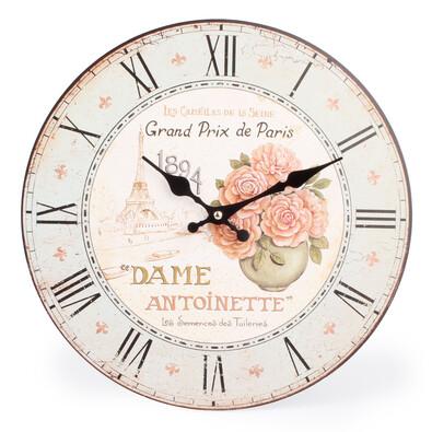 Nástěnné hodiny Antoinette