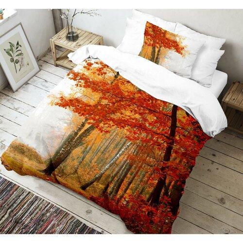 Kvalitex Bavlněné povlečení Leaves 3D, 140 x 200 cm, 70 x 90 cm