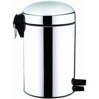Coș de gunoi Toro, cu pedală, design retro, 12 l