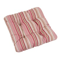 Pernă scaun IVO Linii, roz, 40 x 40 cm